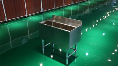 Stainless Steel Ice Storage Bin
