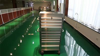 26 Series Stainless Steel Rolling Tool Box